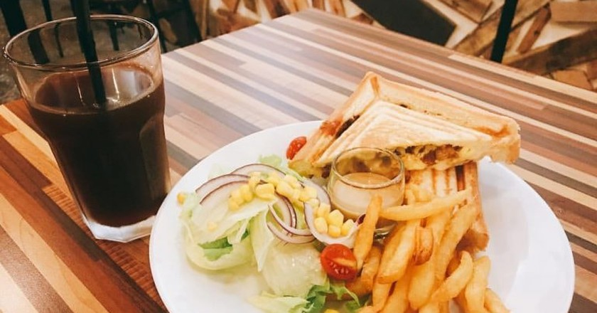 All the brunch goodness at Hou Hou Ga | Courtesy of Hou Hou Ga Breakfast