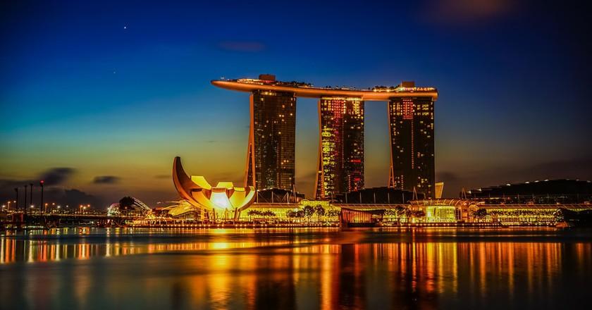 Marina Bay, Singapore   © aotaro / Flickr