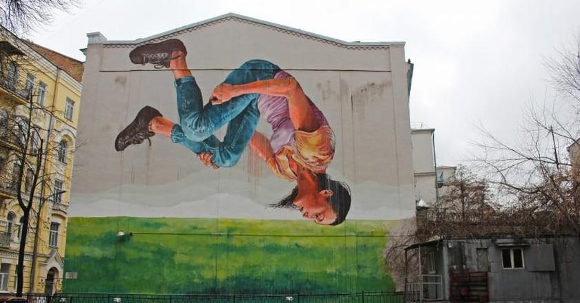 Mural in central Kiev | © travelmag.com / Flickr