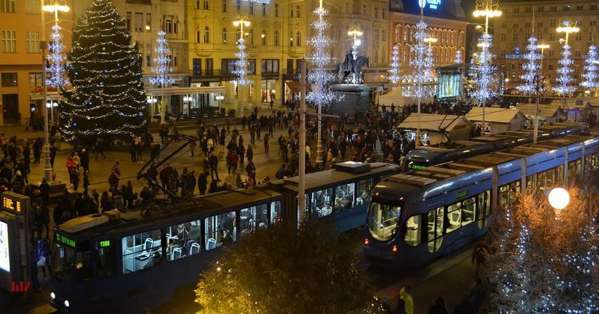 Christmas in Zagreb   © Miroslav Vajdic/Flickr