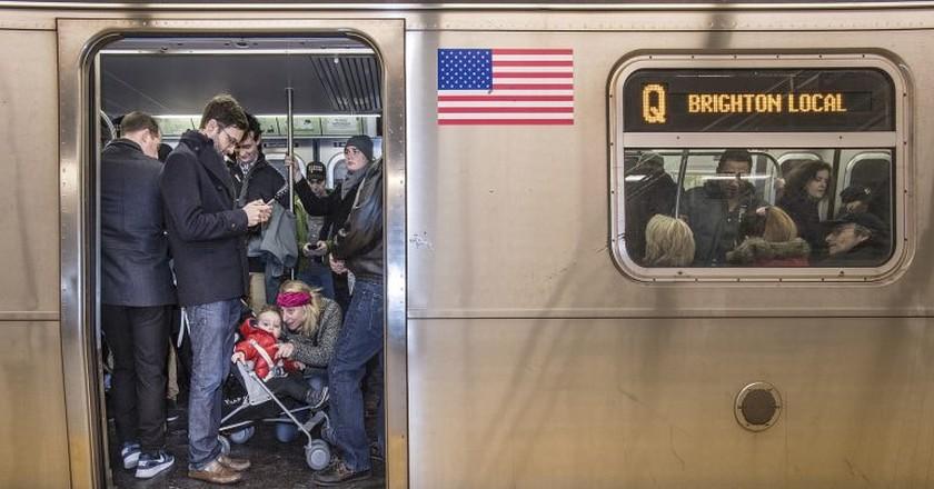 Q Train    © MTA/Flickr