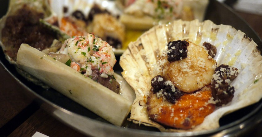 Langoustines, oysters & scallops | © Chris Pople/Flickr