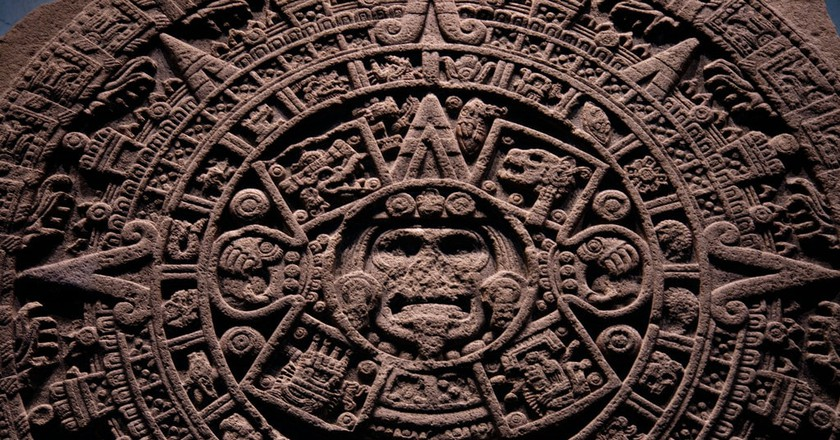 Mexican Sun Stone │© William Neuheisel/Flickr