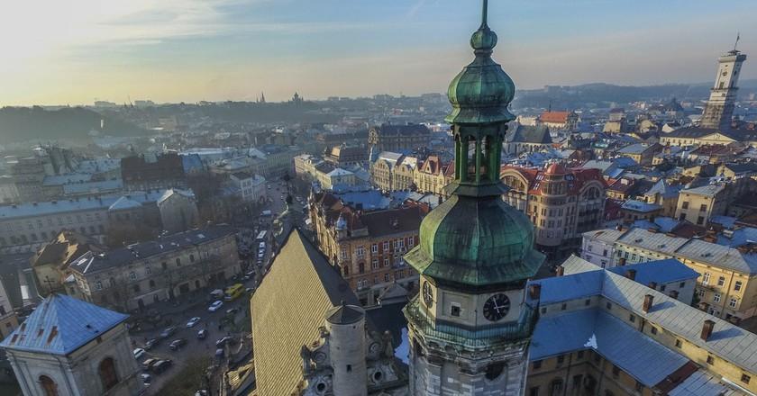 Aerial of Bernardine Church   © Marco Verch/Flickr