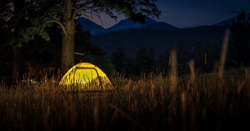 Campsite   © Christina Collins / PhotoPin