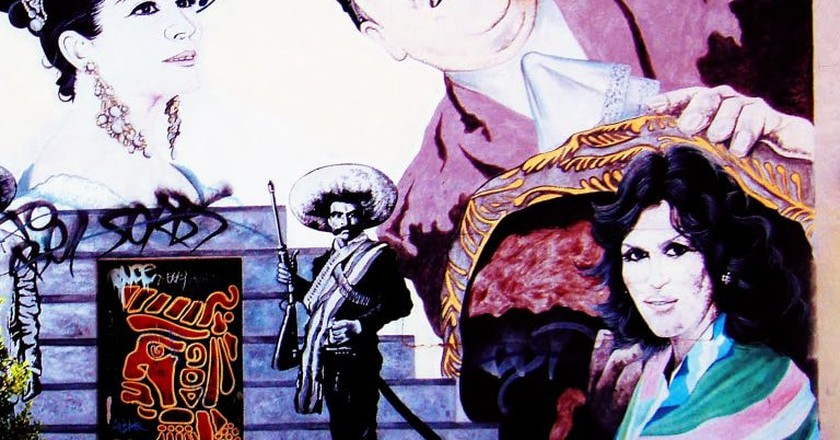 Mexican music mural | © Ms. Phoenix/Flickr