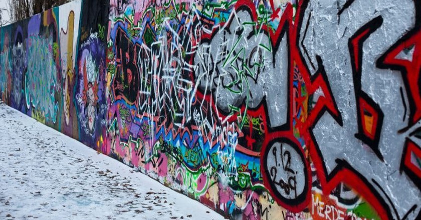Berlin Wall in the Mauerpark | © Matt Biddulph / Flickr