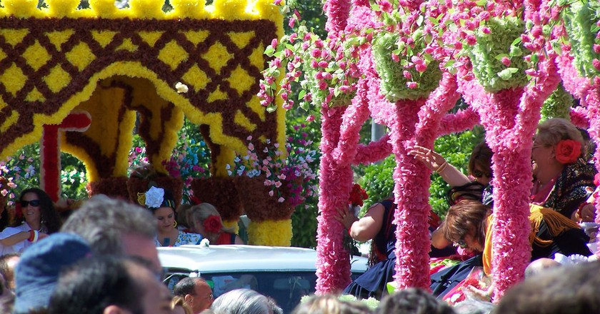 Córdoba's Battle of the Flowers festival; pedronchi/flickr