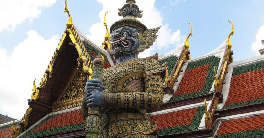 Garuda at Wat Phra Kaew | © edwin.11/Flickr