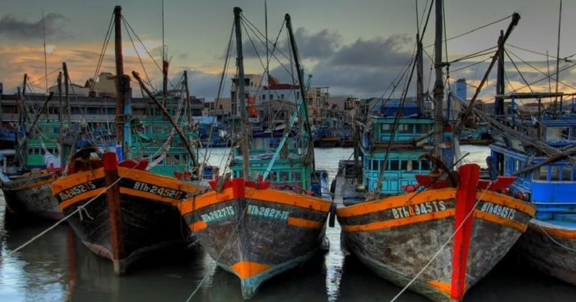 Vietnamese fishing fleet | © Lucas Jans/Flickr
