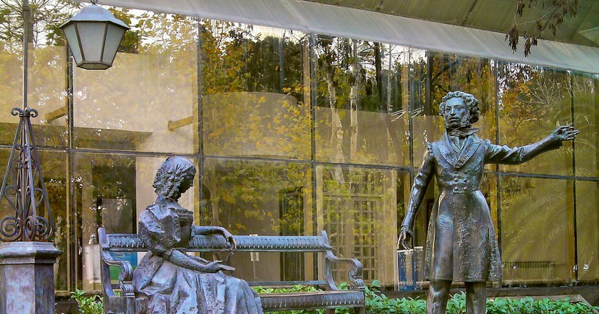 Pushkin Monument Podgorica   © Tony Bowden/Flickr