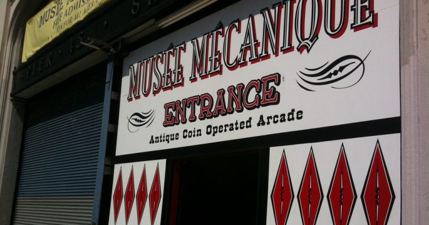 Musee Mecanique | © Michael Greenberg/Flickr