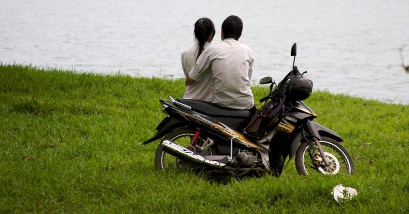 Motorbike love   © Katina Rogers/Flickr