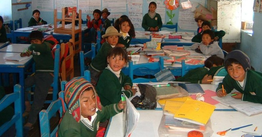 Volunteering in Peru   © Bob Betzen / Flickr