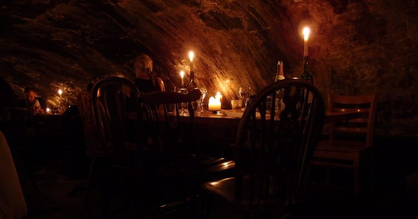 Gordon's cellar   © Graeme Maclean/Flickr