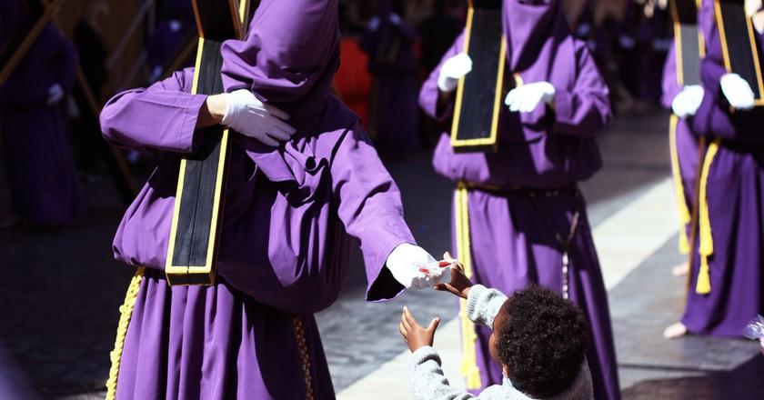 Semana Santa parade in the Valencia region. Photo © Capture the Uncapturable/Flickr