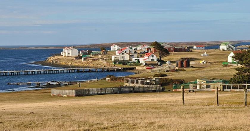 Goose Green, Falkland Islands