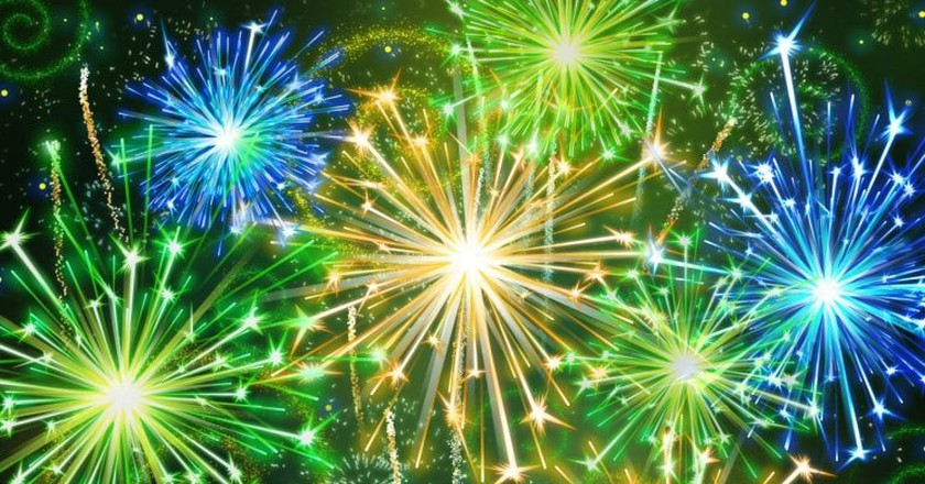 Colombian New Year | © Epic Fireworks / Flickr