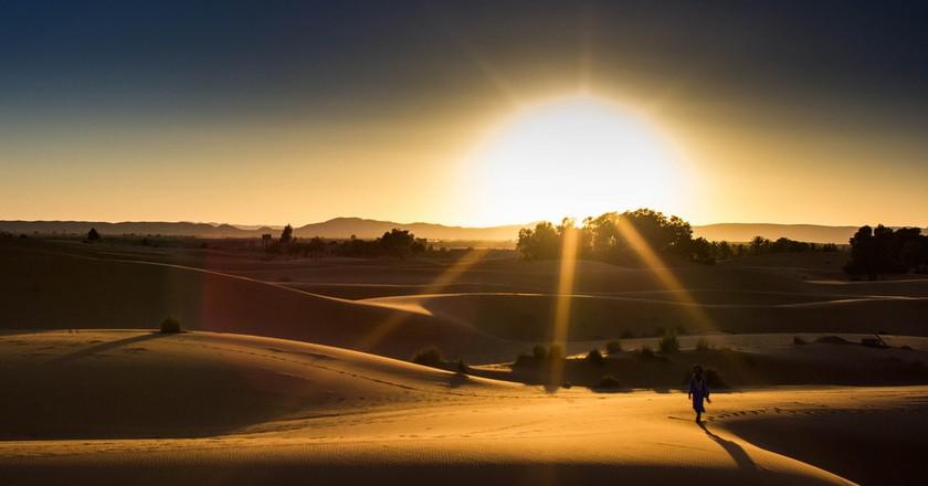 Sunset over the stunning Sahara Desert   © Christopher L. / Flickr