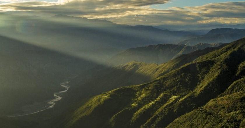 The Chicamocha Canyon near San Gil | © Sergio Fabara Muñoz / Flickr