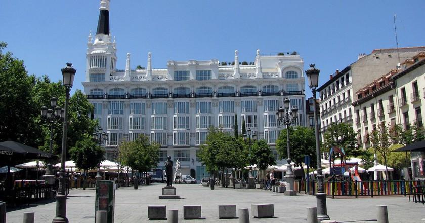 Plaza de Santa Ana|©Rubén Vique/Flickr