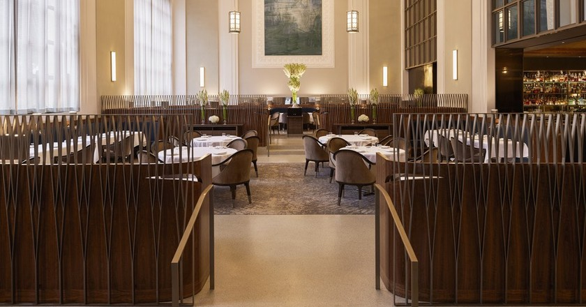 The redesigned main dining room at Eleven Madison Park | © Eric Piasecki Photography