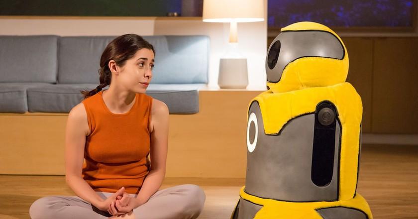 Anna and Arthur the bot in <em>After the Blast</em> | © Jeremy Daniel