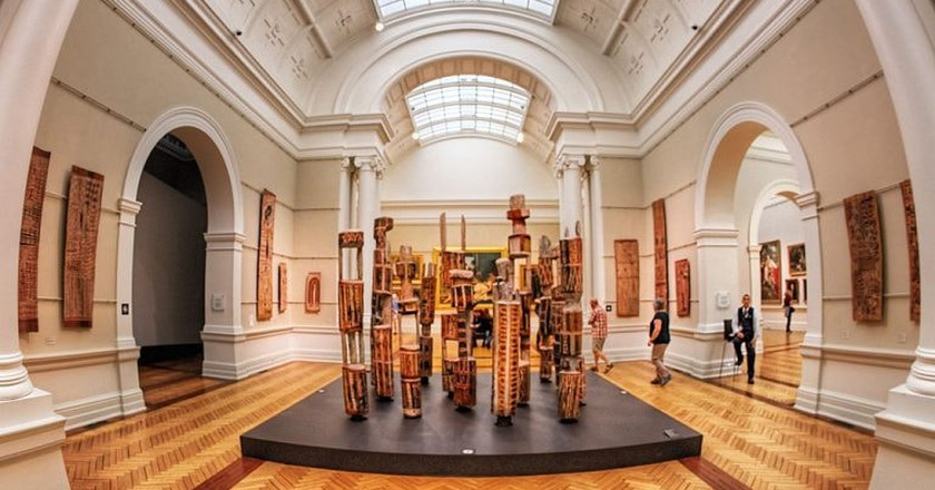 Art Gallery of NSW  © Pedro Szekely / Wikimedia Commons