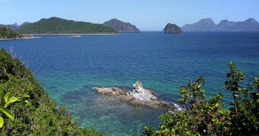 El Nido was used as a location in the Bourne Legacy   ©AxeEffect/ Wikipedia