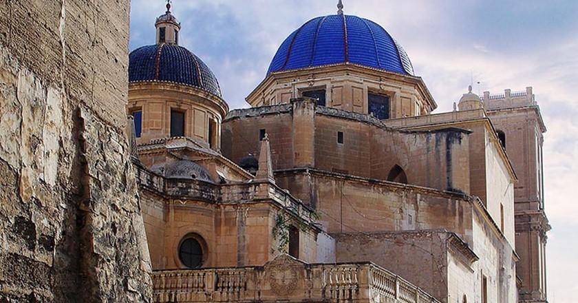 The Basilica of Santa Maria, Elche. Photo courtesy of Elche tourist board.