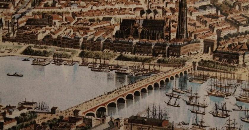 The old Port de Bordeaux|© Frédérc Alexianu/Wikimedia Commons