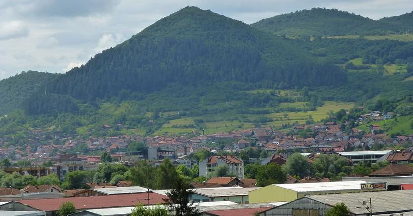 The Bosnian Pyramid of the Sun in Visoko   © TheBIHLover