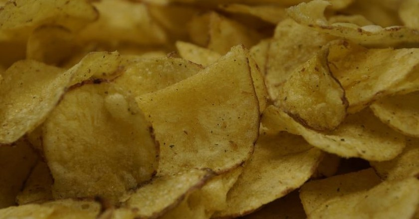 Potato Chips | © Pixabay