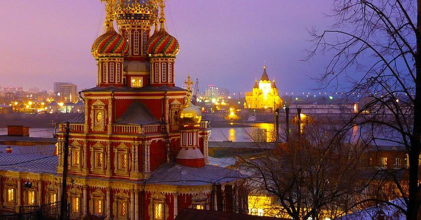 Church of the Nativity of the Blessed Virgin Mary in Nizhny Novgorod   © xSpline / WikiCommons