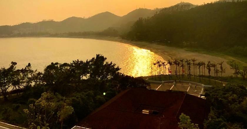 View from balcony at Grand Coloane Resort, Macau | © Matthew Keegan