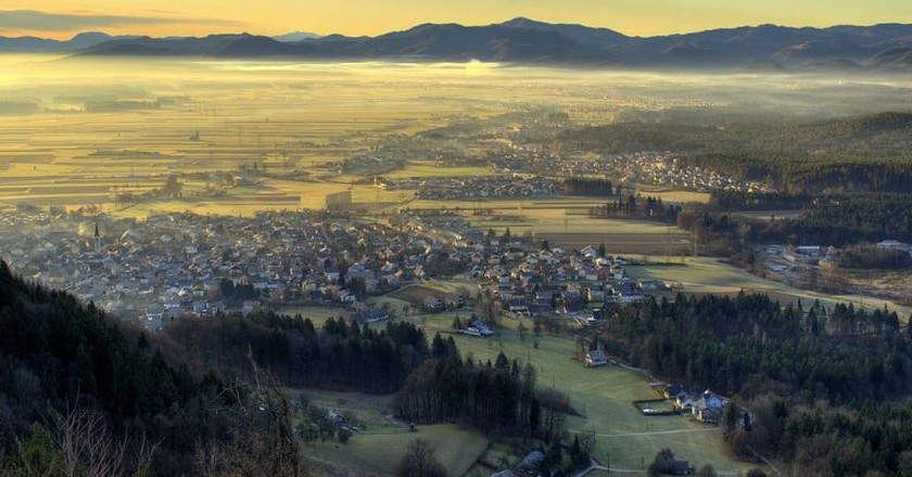 The view of Škofja Loka |© Mihael Grmek /WikiCommons