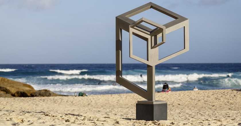 These Abstract Art Installations Are Popping Up All Over Sydney's Bondi Beach