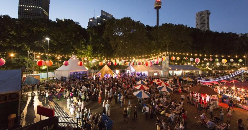 'Festival Village' Sydney Festival 2017 | © Jamie Williams/Courtesy of Sydney Festival