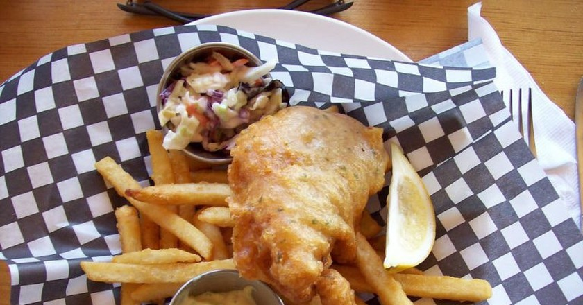 Fish and Chips | © JamesZ_Flickr/Flickr