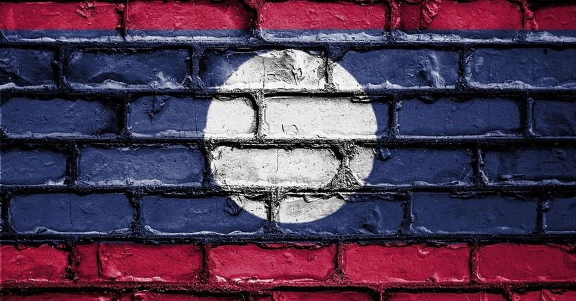 Lao Flag | © Public_Domain_Photography/Pixabay