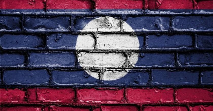 Lao Flag   © Public_Domain_Photography/Pixabay