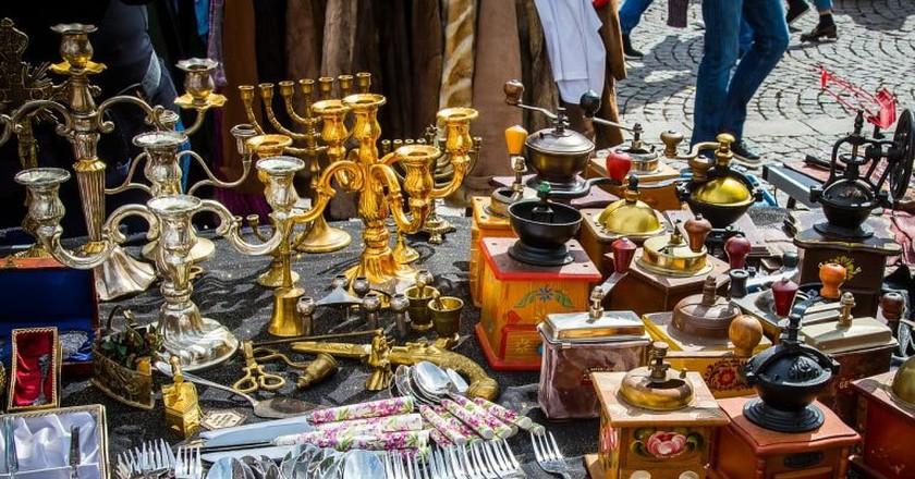 Check out Dresden's flea markets | © maxmann / Pixabay