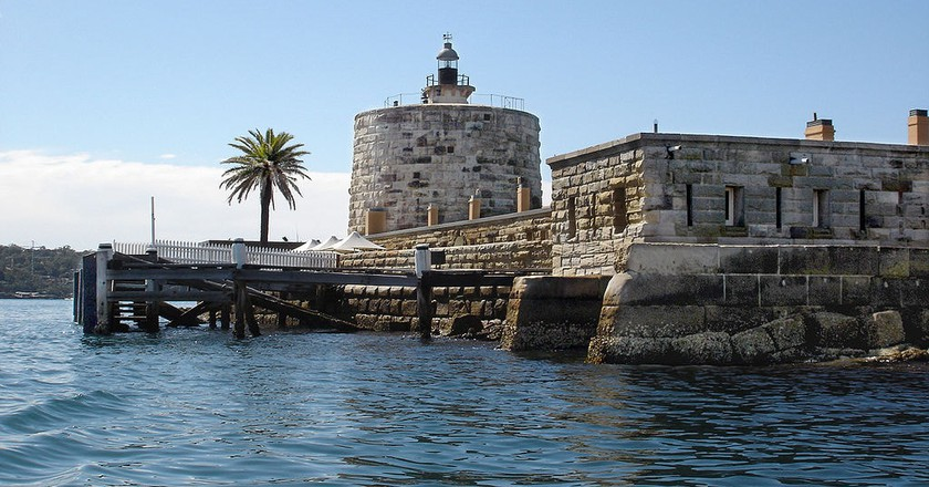 Fort Denison, Sydney Harbour | © Andy Mitchell/Wikimedia Commons