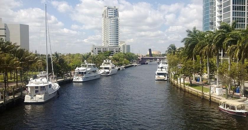 Riverwalk in Fort Lauderdale | ©  Don Ramey Logan / WikiCommons