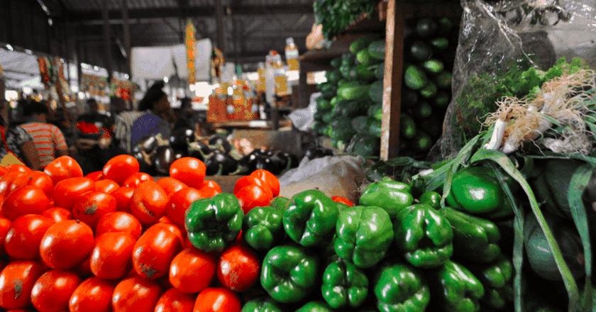 Fresh produce in Kimironko Market | Courtesy of Leah Feiger