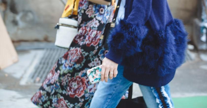 Paris Fashion Week street style SS18 | © Culture Trip