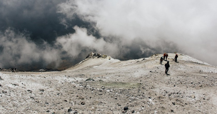 A Guide to Hiking Up Mount Damavand in Iran