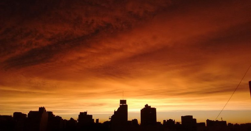 The sunset over Buenos Aires | © K.B.L. Luccia/Flickr