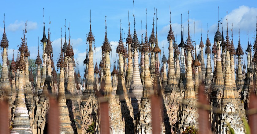 The stupas at Kakku in Shan State | © Chase Chisholm