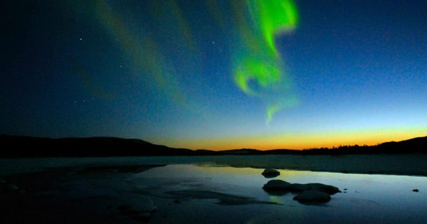 The Northern Lights | © Jerry MagnuM Porsbjer/WikiCommons